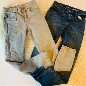 Kids 10slim bundle 2 pair jeans